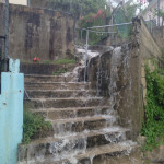 Downtown Rincon Tropical Waterfall